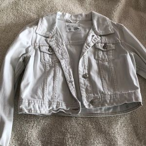 White jean jacket!